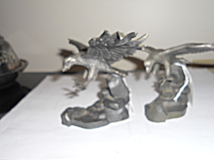 Eagle Figurines Pair R S Alloy 8355 (Image1)