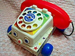 Fisher Price Chatter Telephone 747 1961 (Image1)