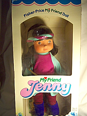 Fisher Price Jenny Doll, Mib,1984
