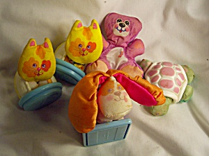 Fisher Price Smooches Cat Bear Dog 1987 lot (Image1)