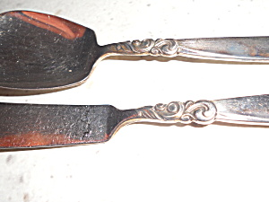 South Seas Sugar Spoon And Butter Knife