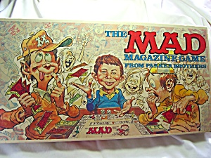 Mad Magazine Game 1979 Parker Bros (Image1)