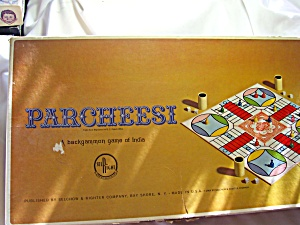 Parcheesi Game Selchow Righter 1964 (Image1)