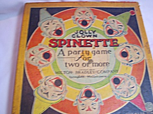 Jolly Clown Spinette Party Game 1932 (Image1)