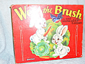 Wet The Brush and Bring Out Colors 1952 (Image1)