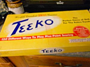 Teeko Game John Scarne Games Inc 1945 to 1955 (Image1)