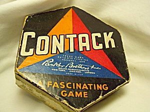 Contack Game Parker Bros 1939 (Image1)