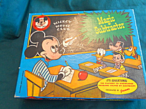 Mickey Mouse Club Disney Subtractor Game 1950 (Image1)