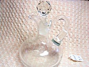 Blown Glass Cruet with Stopper (Image1)