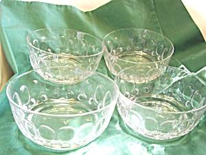 Fostoria Glass Bowls Set of 4 (Image1)