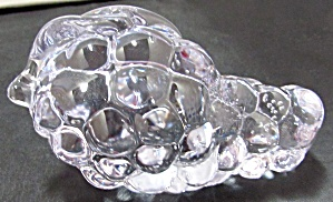 Paperweight Blown Art Glass Grapes Grape Cluster Fruit