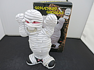 Mummy Graveyard Ghoulies Battery Operated In Box