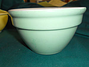 Hall Pottery Green Mixing Bowl 1093