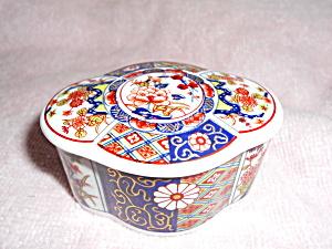 Imari Empress Jewelry or Trinket Box Japan (Image1)