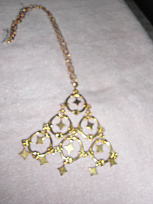 Necklace Pyramid With Circles And Stars