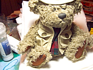Tanner Brass Button Fisherman Teddy Bear