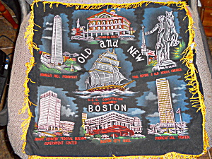 Old And New Boston Pillow Cover