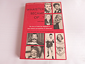 Whatever became of Book Third Series 4th Printing 1973 (Image1)