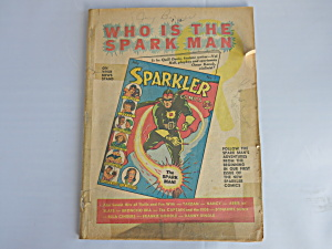 Sparkler Comics No 1 Who is the Spark Man 1941 Al Capp (Image1)