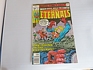 When Gods Walk The Earth The Externals Comic No 16 1977