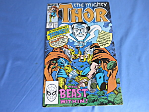 The Mighty Thor Comic The Beast Within No 413 1990