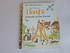 A little Golden Book Bambi Friends of the Forest 1975  (Image1)