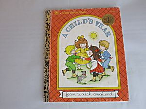 50 Years Little Golden Book A Child's Year 1992 312-06