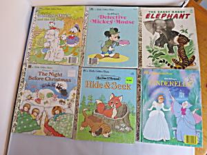 A Little Golden Book lot of six books 1980s (Image1)