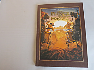 Collectors Edition Story Book The Prince Of Egypt 1998