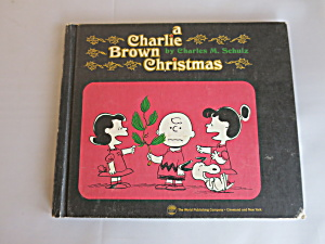 A Charlie Brown Christmas Book 1965 First Printing