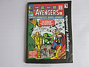 The Avengers Earth's Mightiest Superheroes Marvel Comic