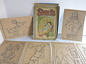 Milton Bradley Circus Stencils Early 1900s