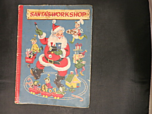 Santa's Workshop Book White Plains Greeting Card Corp. (Image1)