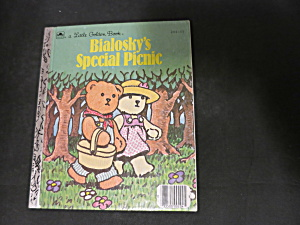 a Little Golden Book Bialosky's Special Picnic 204-55  (Image1)