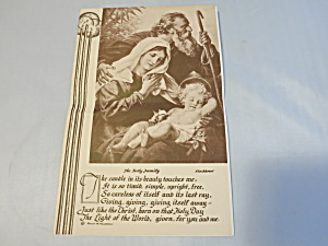 St. James Church Bulletin Christmas Eve 1940 New York (Image1)