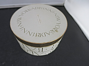 Vintage Adrienne New York Face Powder Box