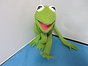 Kermit The Frog Fisher Price Jim Henson Muppet Doll 1976 Plush