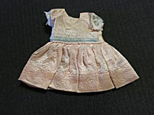 Vintage Nancy Ann Storybook Doll Dress tagged pink blue white (Image1)