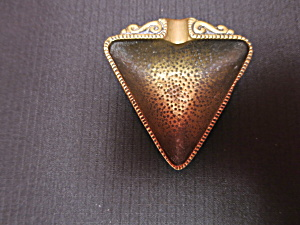 Dyagi Brass Ashtray Jerusalem Judica Art Israel  (Image1)
