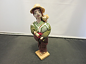 Vintage Cloth and Paper Guatemala Doll (Image1)