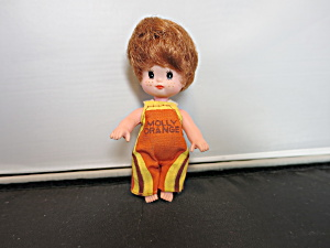 Jointed Baby Doll Molly Orange 3 1/2 Inch