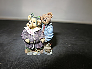 Boyds Town Village Accessories Mr Mrs Mc New Bear