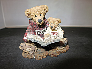 Boyds Bears And Friends Ted And Teddy Figurine