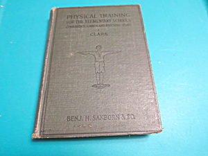 Physical Training for Elementary School 1923 (Image1)