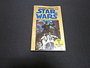 1976 Star Wars Book George Lucas Paperback