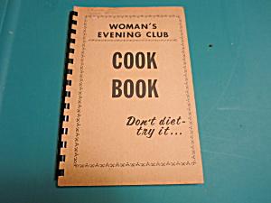 WOMENS EVENING CLUB COOKBOOK 1964 (Image1)