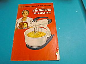 Sunbeam Mixmaster Booklet 1950 (Image1)