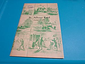 St. Albans Raid Oct. 19, 1964 Booklet (Image1)