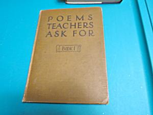 Poems Teachers Ask For Book 1 F A Owen Pub (Image1)