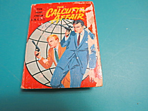The Man From Uncle The Calcutta Affair  Big Little Book 1967 (Image1)